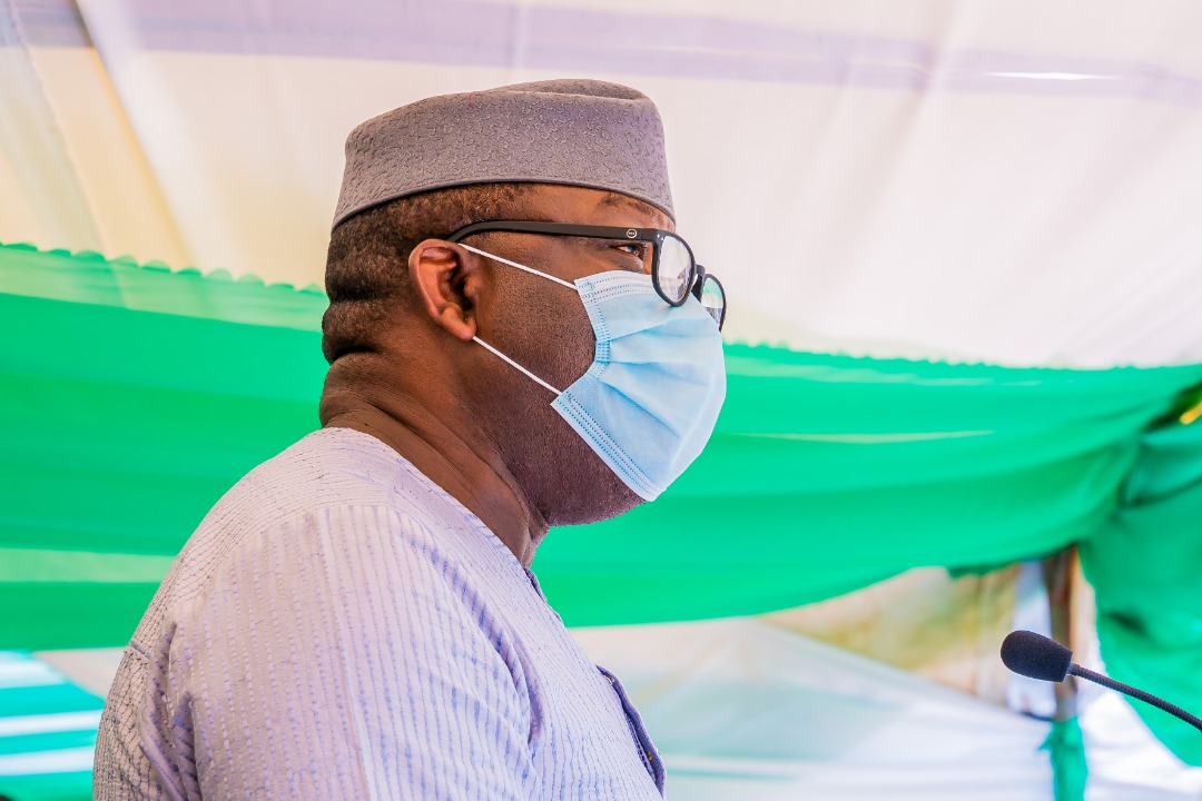 Put our Feet on Fire, Governor Fayemi tells Journalists