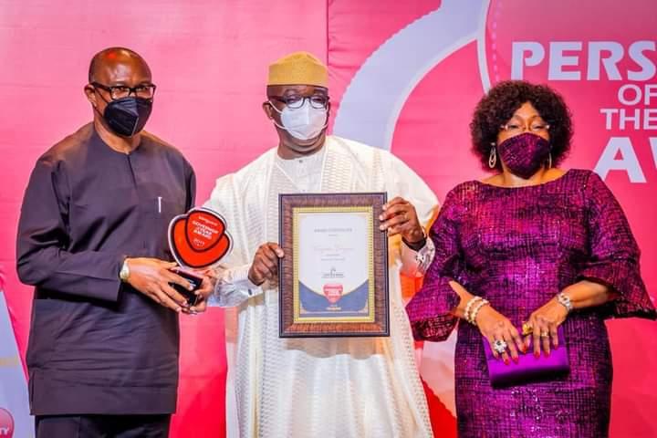 Governor Fayemi Dedicates Governor of The Year Award To Ekitikete