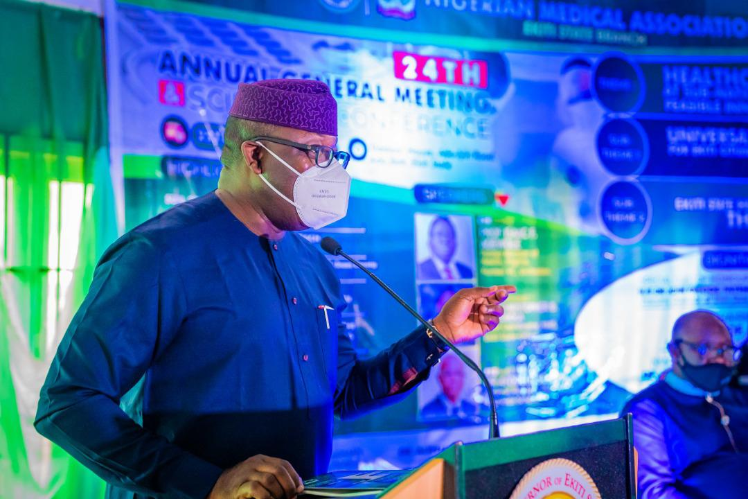 Governor Fayemi Unveils Plans For N1.5bn Medical Equipment, ICU In EKSUTH
