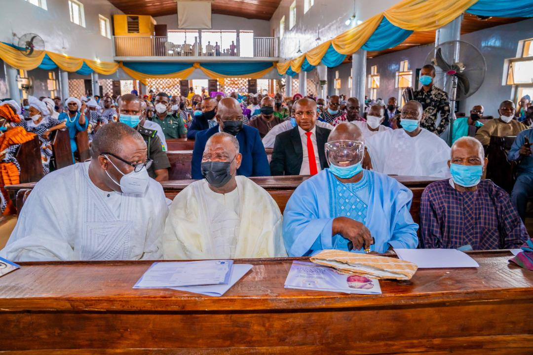 Governor Fayemi, EX-GOV Akande, Afenifere Leaders, Honor Late Fasanmi