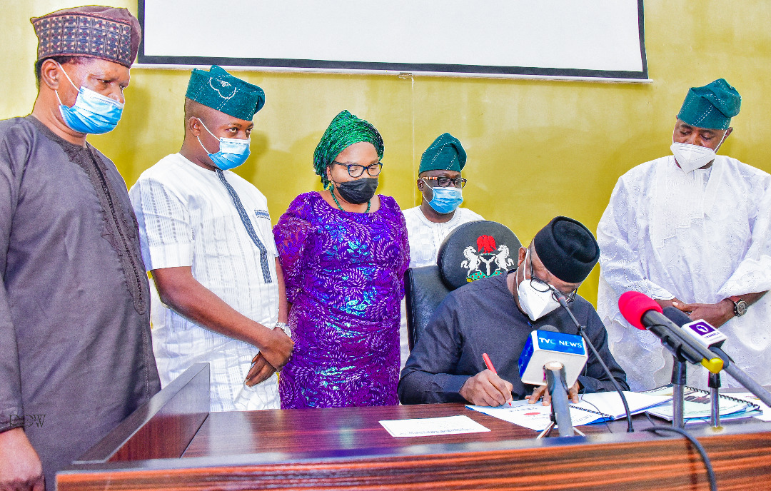 Governor Fayemi signs Judiciary, Legislative Fund Management, Four other Laws