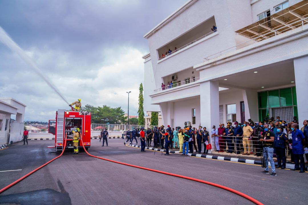 Ekiti to have Operational Fire Stations in Six Federal Constituencies – Governor Fayemi