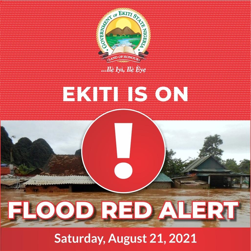Ekiti on Flood Red Alert